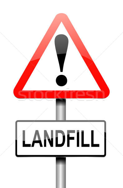 Landfill Sign. Stock photo © 72soul