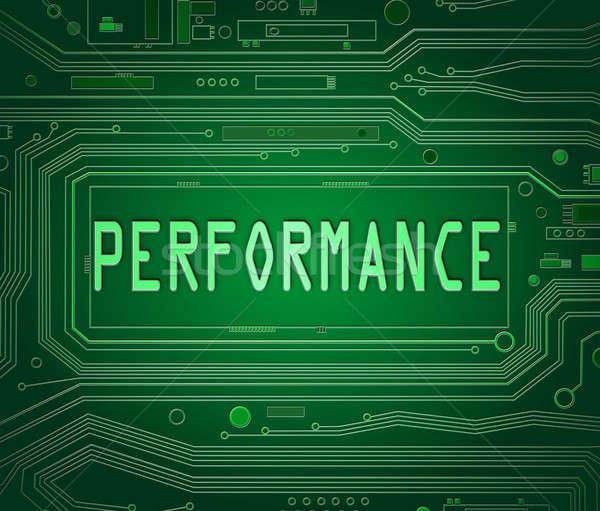 Performance concept. Stock photo © 72soul