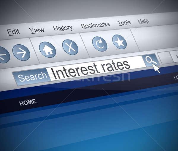 Interest rates concept. Stock photo © 72soul
