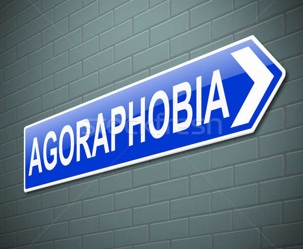 Agoraphobia concept. Stock photo © 72soul
