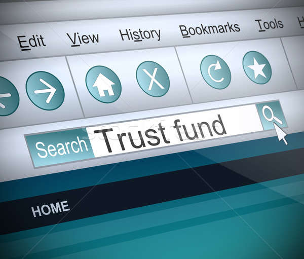 Trust fund concept. Stock photo © 72soul