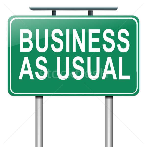 бизнеса иллюстрация дорожный знак торговых знак Финансы Сток-фото © 72soul