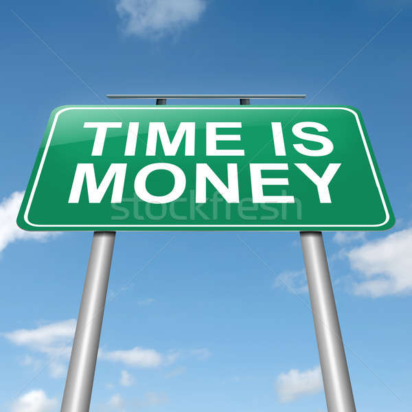 Time is money. Stock photo © 72soul