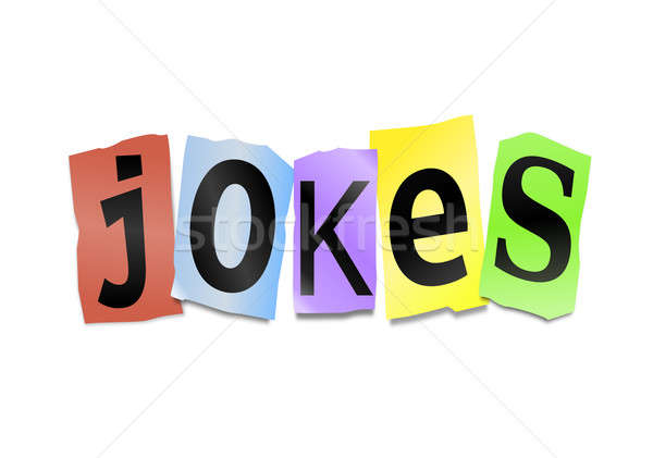 Jokes concept. Stock photo © 72soul