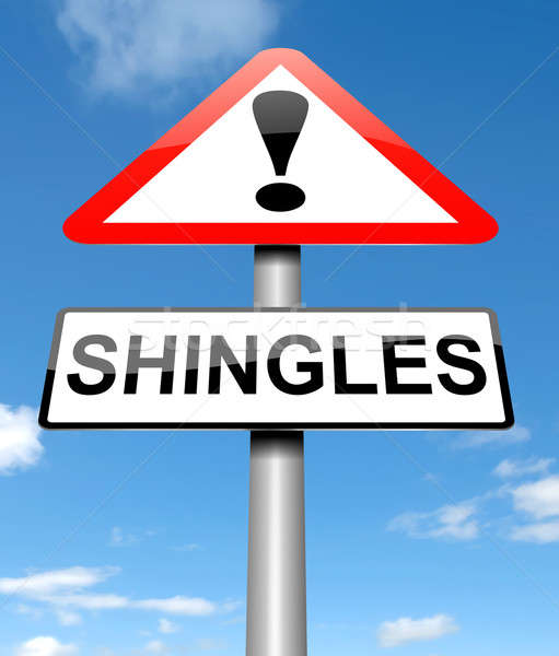 Shingles concept. Stock photo © 72soul