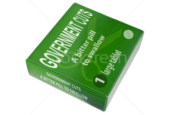 Governo verde pacote palavras amargo Foto stock © 72soul
