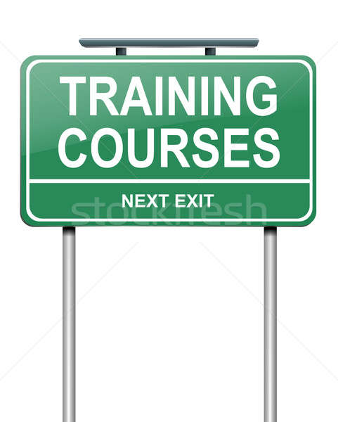 Training courses concept. Stock photo © 72soul