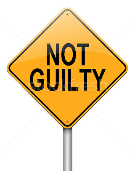 Not guilty concept. Stock photo © 72soul