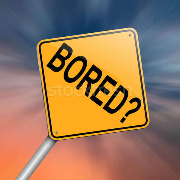 Boring concept. Stock photo © 72soul