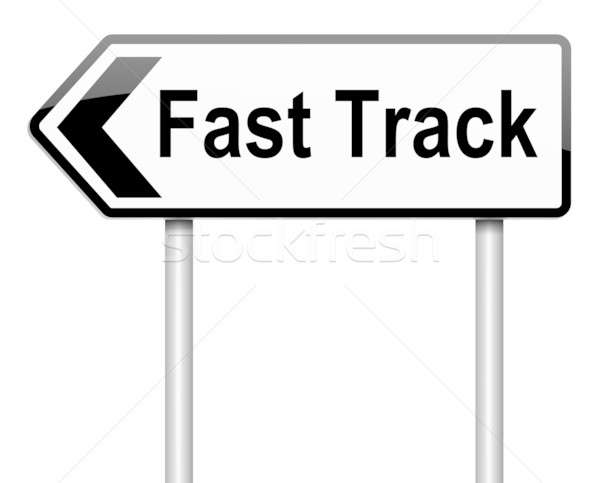 Fast track concept. Stock photo © 72soul