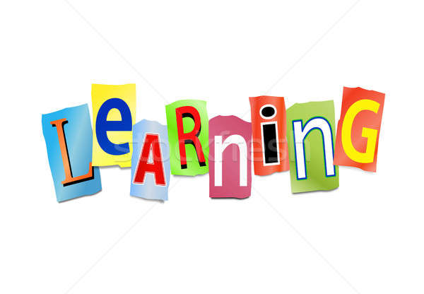 Learning concept. Stock photo © 72soul