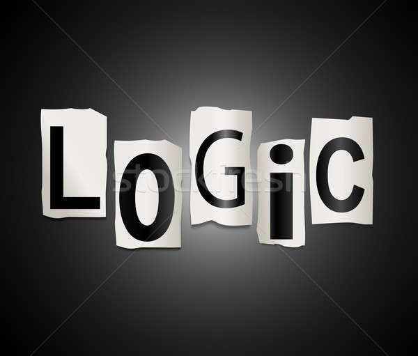 Logic concept. Stock photo © 72soul