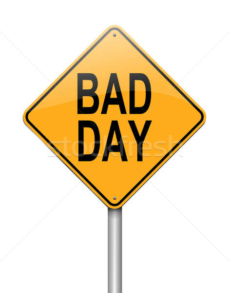 Bad day concept. Stock photo © 72soul