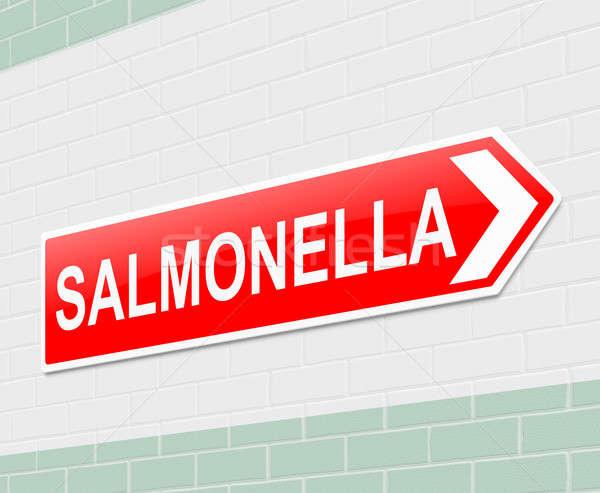 Salmonella concept. Stock photo © 72soul