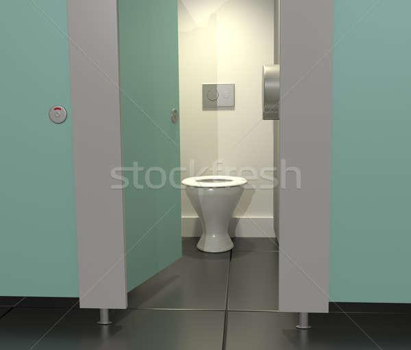 Public toilets. Stock photo © 72soul