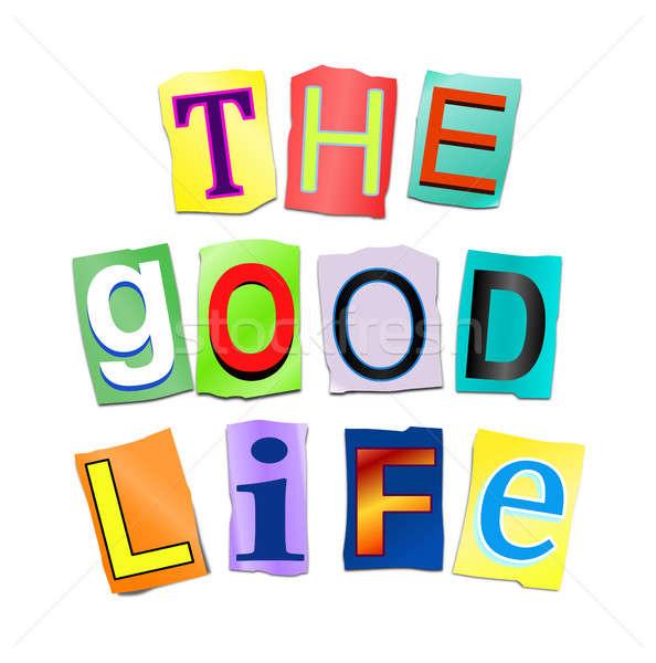 The good life. Stock photo © 72soul