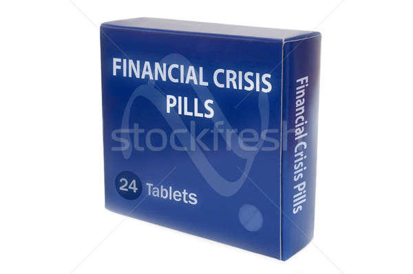 Cure for financial crisis Stock photo © 72soul