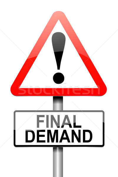 Final demand concept. Stock photo © 72soul