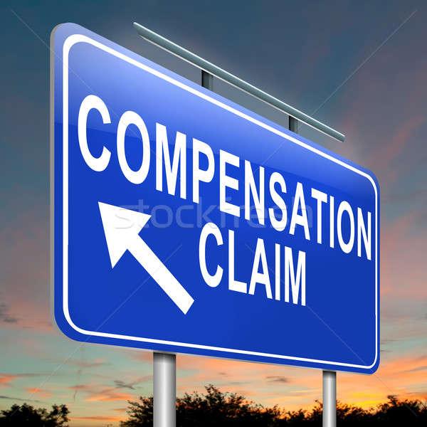 Compensation claim. Stock photo © 72soul