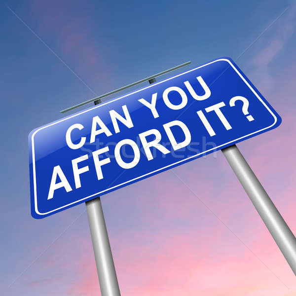 Can you afford it? Stock photo © 72soul