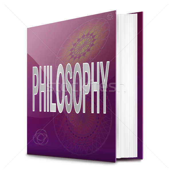 Philosophy text book. Stock photo © 72soul