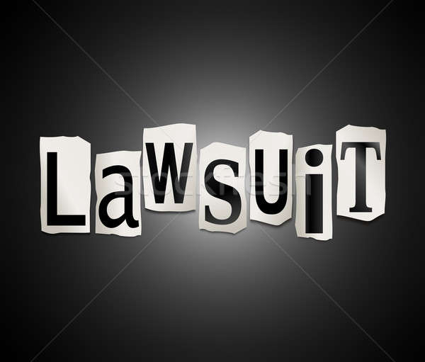 Lawsuit concept. Stock photo © 72soul