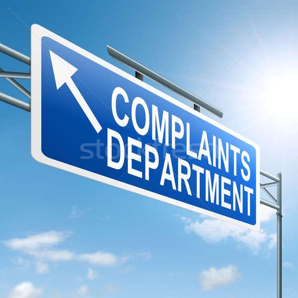 Complaints department. Stock photo © 72soul