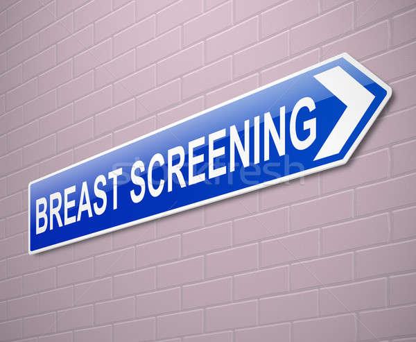 Breast screening concept. Stock photo © 72soul