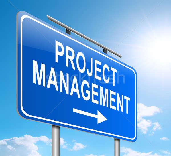 Project management concept. Stock photo © 72soul