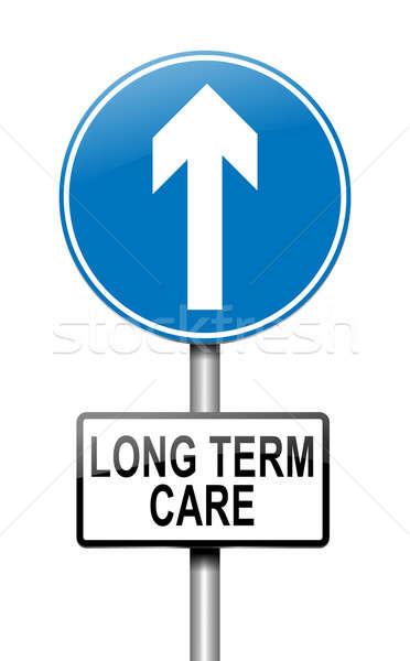 Long term care concept. Stock photo © 72soul