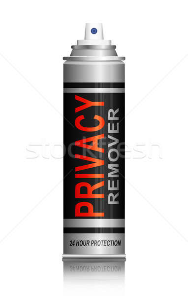 Privacy remover concept. Stock photo © 72soul