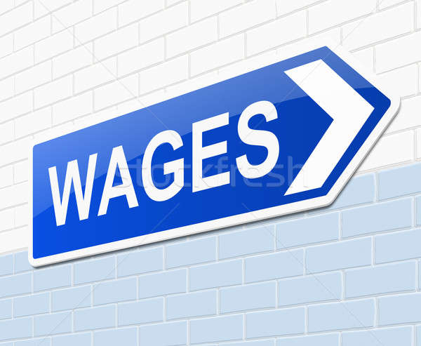 Wages concept. Stock photo © 72soul