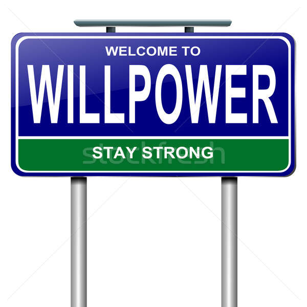 Willpower concept. Stock photo © 72soul