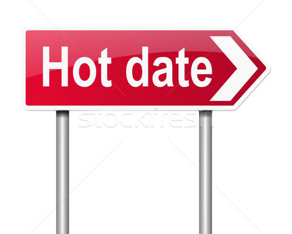 Hot date concept. Stock photo © 72soul