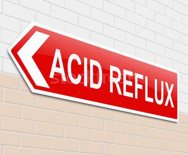 Acid reflux concept. Stock photo © 72soul
