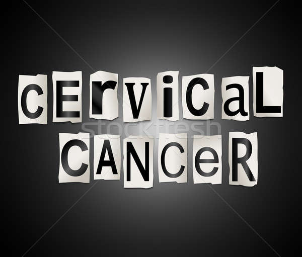 Cervical cancer concept. Stock photo © 72soul