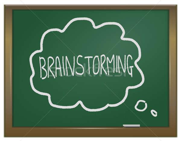 Stock photo: Brainstorming concept.