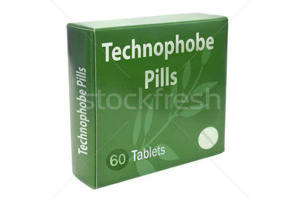 治す 緑 ボックス 単語 錠剤 ストックフォト © 72soul