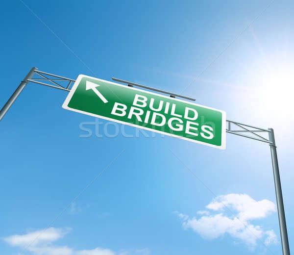 Building bridges. Stock photo © 72soul