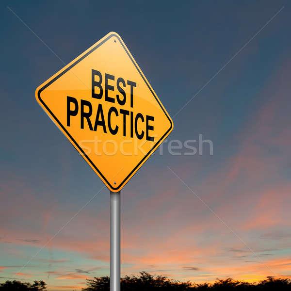 Best practice concept. Stock photo © 72soul