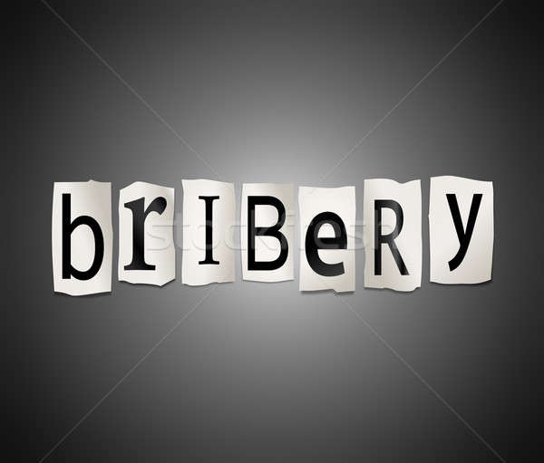 Bribery concept. Stock photo © 72soul