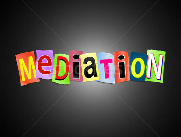 Mediation concept. Stock photo © 72soul