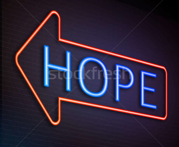 Hope sign concept. Stock photo © 72soul