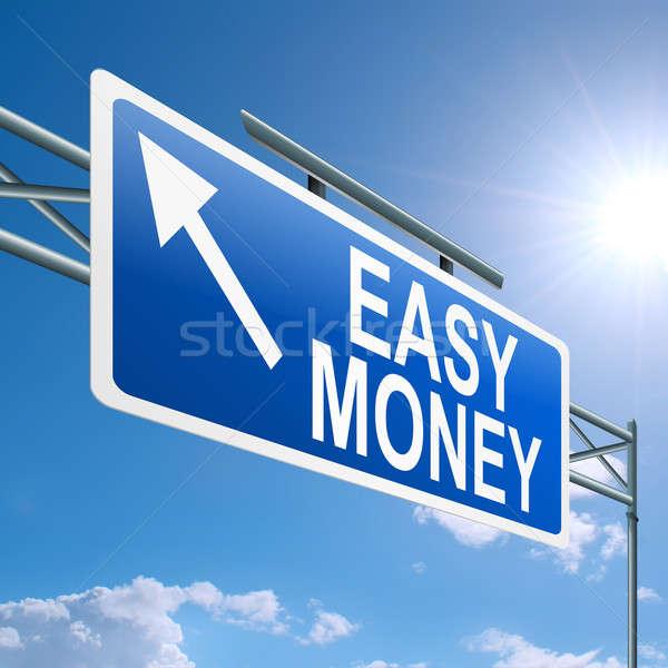 Easy money concept. Stock photo © 72soul