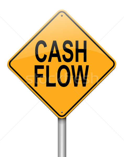 Cash flow concept. Stock photo © 72soul