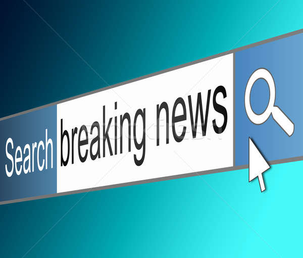Breaking news concept. Stock photo © 72soul