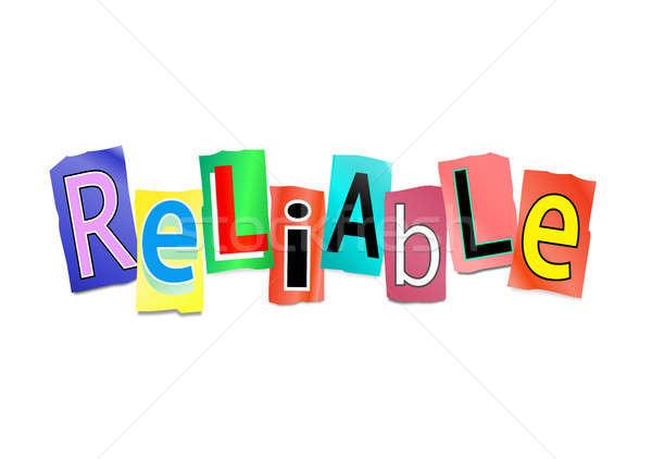 Reliable concept. Stock photo © 72soul