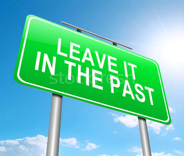 Leave it in the Past concept. Stock photo © 72soul