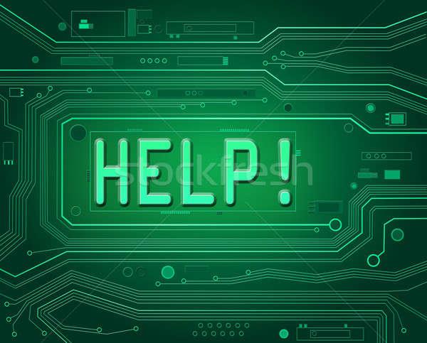 Technical help concept. Stock photo © 72soul