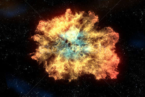 Nebulosa nube polvere idrogeno elio altro Foto d'archivio © 7activestudio